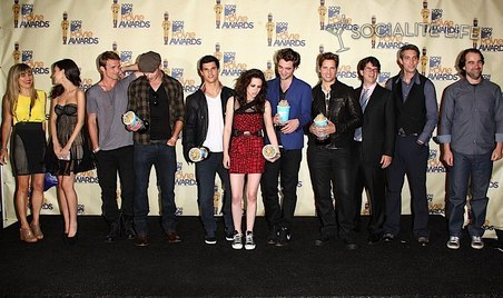 mostly everyone cast of twilight