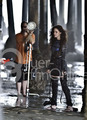 on set new photoshoots of Kisten - twilight-series photo