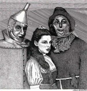 Portriat Of The Wizard Of Oz