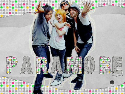 Paramore wallpaper probably with a well dressed person, long trousers, and a pantleg titled paramore