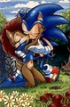 sonicsally kissing  - sonsally photo