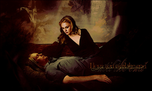 sookie and eric wallpaper