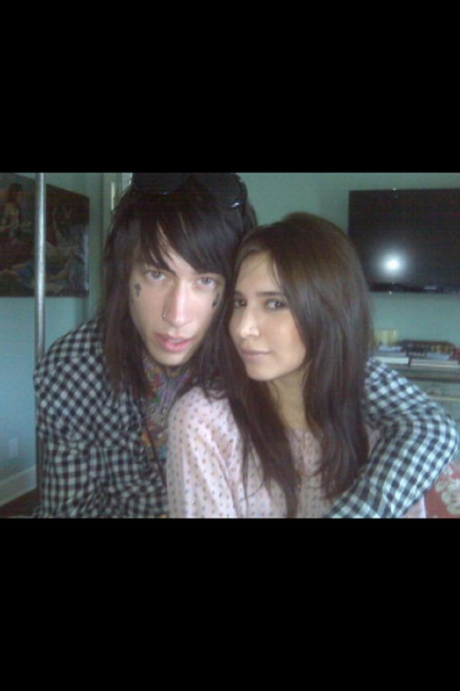 """trace cyrus and hanna beth"""" by stormy   Chictopia  Trace Cyrus And Hanna Beth Kissing"""