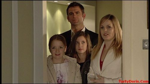 Abi, Jack, Lauren and Tanya Branning
