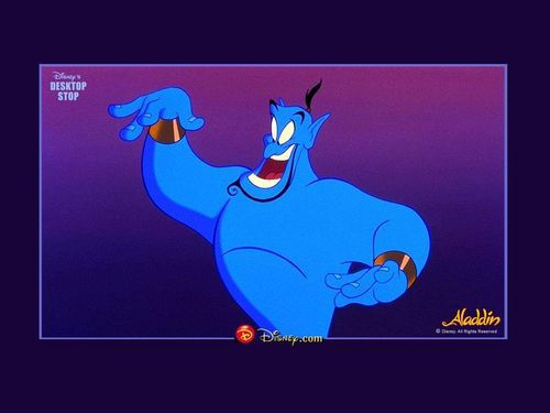 Aladdin wallpaper containing anime titled Aladdin Wallpaper