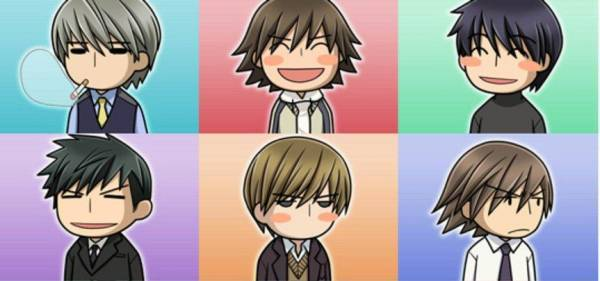 Junjou Romantica Characters Names