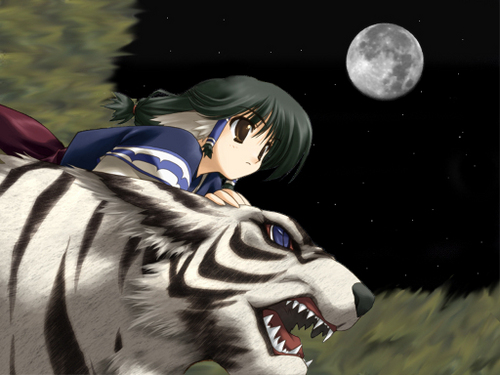 anime animal achtergrond called anime Animals