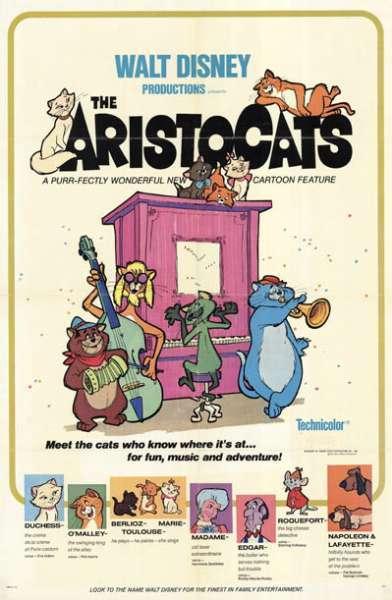 Aristocats Movie Poster
