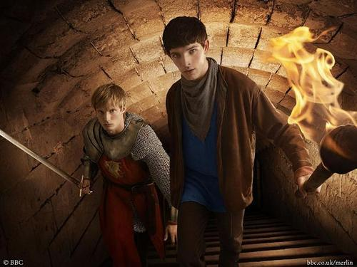 Arthur/Merlin: Dungeon - arthur-and-merlin Photo
