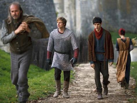 Arthur/Merlin: Walking