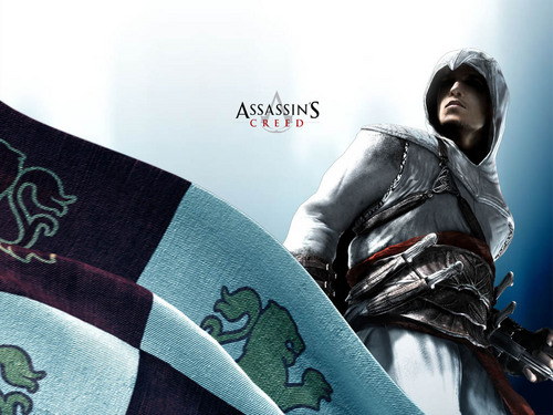 Assassin's Creed wallpaper probably with a tabard and a sign entitled Assassins Creed Wallpaper