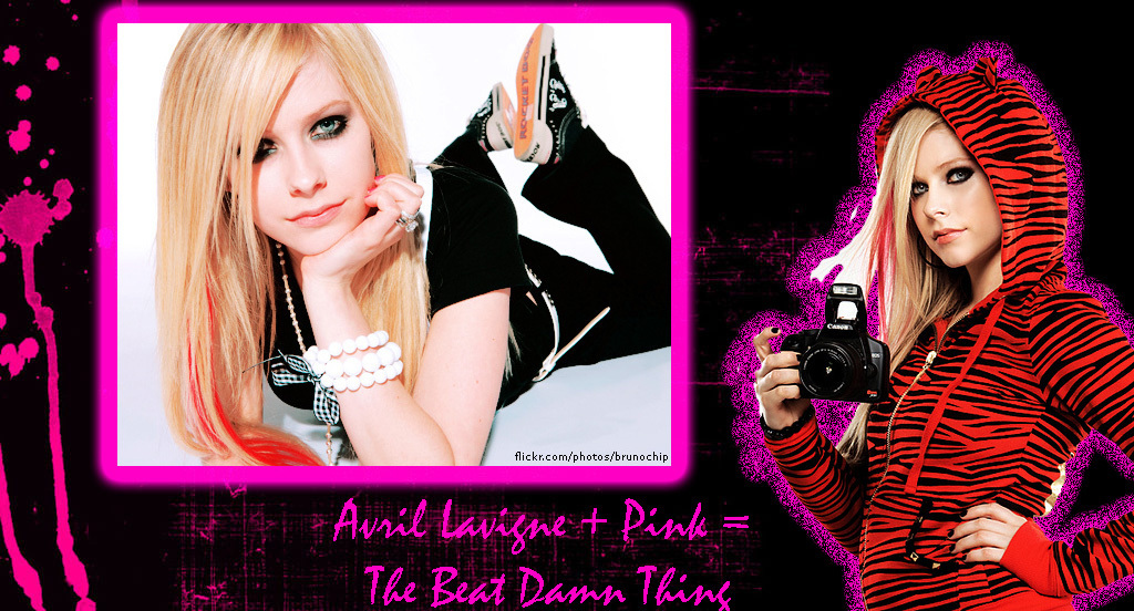 Avril Lavigne + Pink = The Best Damn Thing - Avril Lavigne 1024x552
