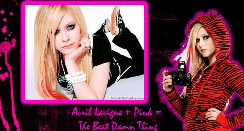 Avril Lavigne + розовый = The Best Damn Thing
