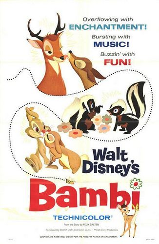 Bambi Hintergrund called Bambi Movie Poster