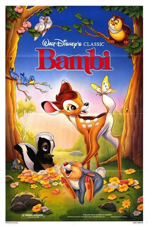 Bambi Movie Poster - Bambi Fan Art (6604275) - Fanpop