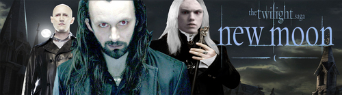 Banner Aro, Caius, and Marcus