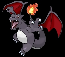 Black/Shiny Charizard
