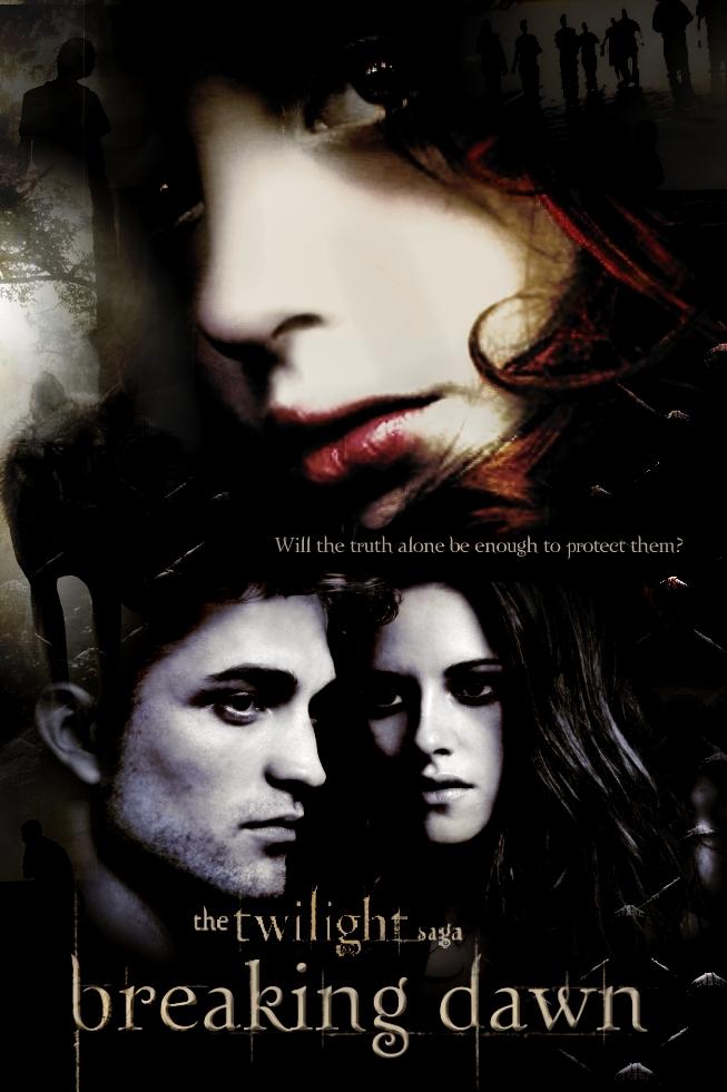 Breaking Dawn movie poster  - twilight-series fan art