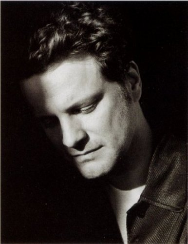 Colin Firth karatasi la kupamba ukuta called British Vogue April 1997