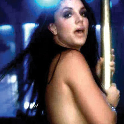 "Britney in ""Gimme more"""