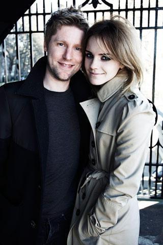 Burberry Ad Campaign - Emma Watson 320x480