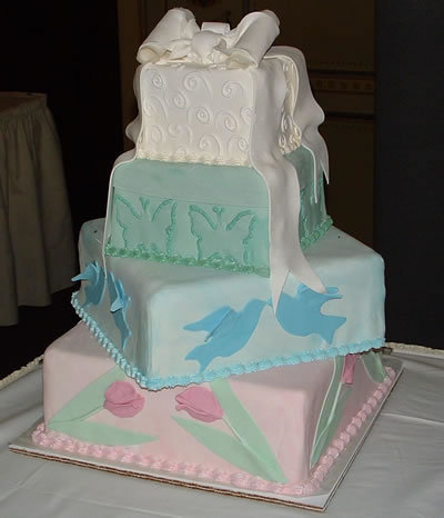 baby shower cakes. Cake from my aby shower