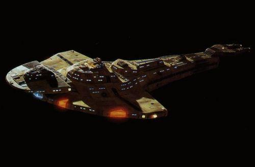 Cardassian Galor class starship