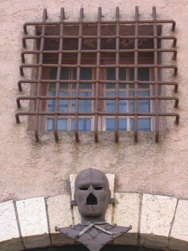 Cell Window of the Man in the Iron Mask