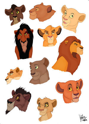 Characters - The Lion King 2:Simba's Pride Fan Art ...
