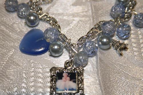 Charm Bracelet OOAK with Marilyn Monroe