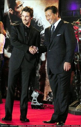 Christian @ Terminator Salvation Japan Premiere