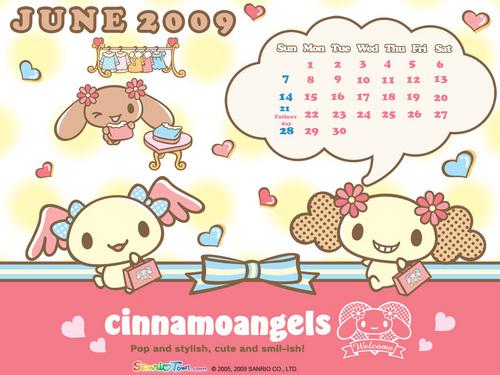 Cinnamoangels June 2009 वॉलपेपर