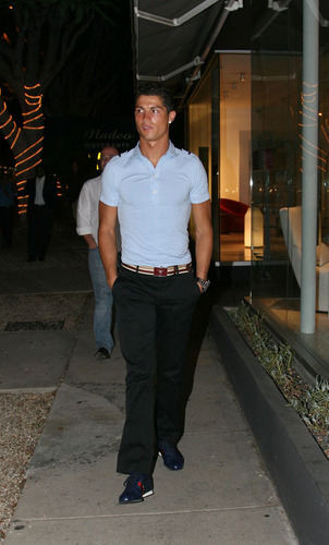 Cristiano in Beverly Hills