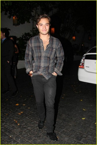 Ed Westwick is a Chest Hair Hottie
