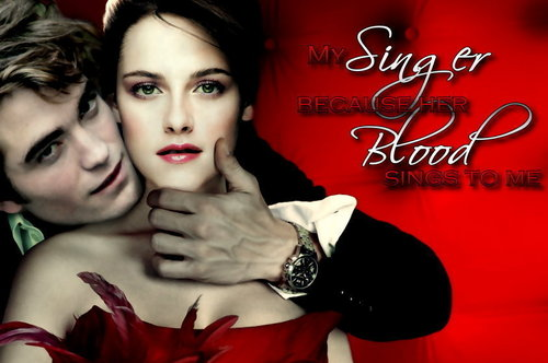 Twilight Saga Фильмы Обои probably with a portrait titled Edward & Bella
