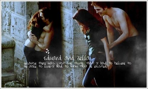 Twilight Saga Фильмы Обои probably containing a ужин dress and a фонтан called Edward & Bella
