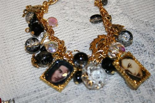 Edward and Jacob Charm bracelet $25