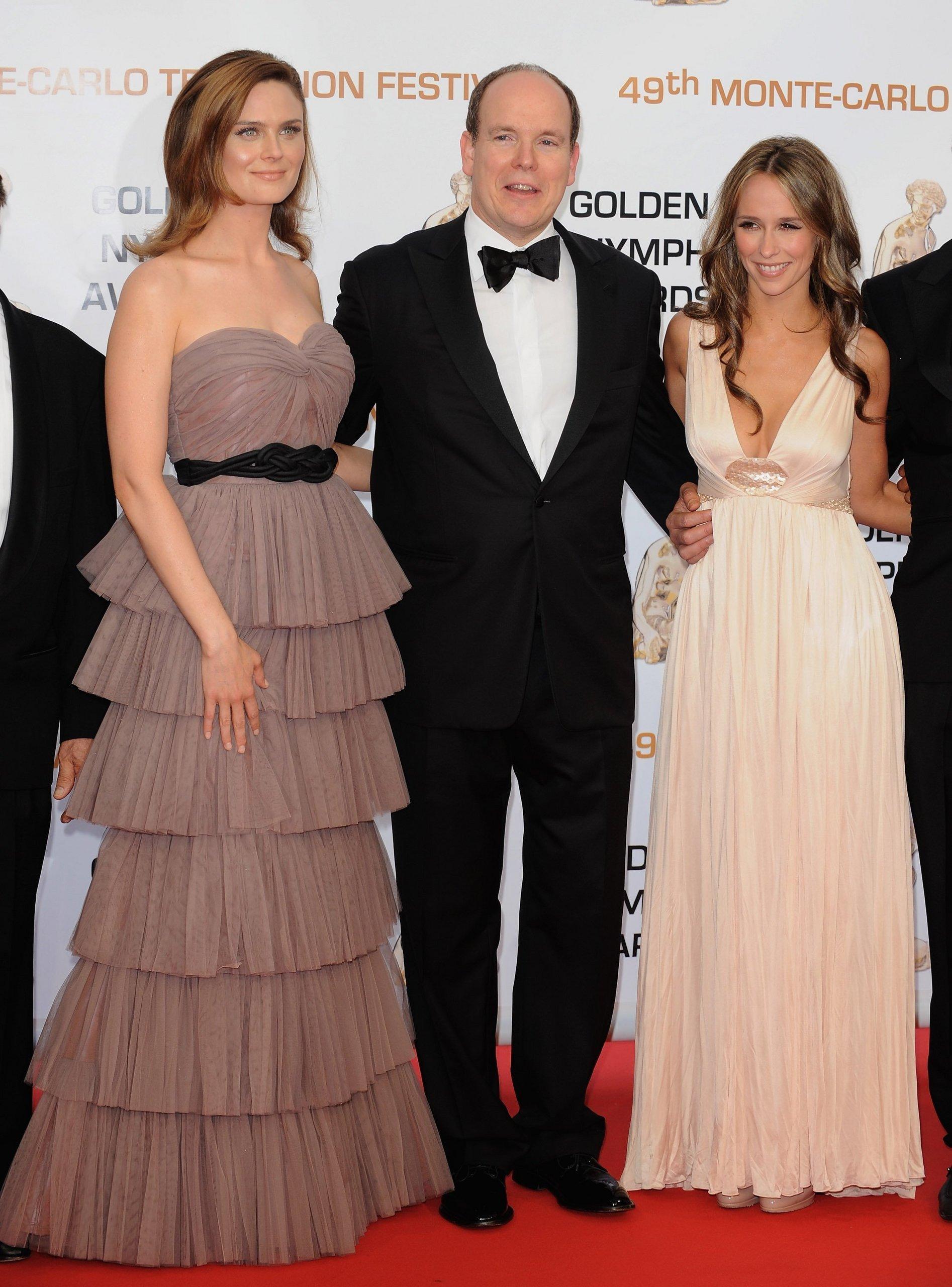 Emily Deschanel @ Golden NYMPH Awards