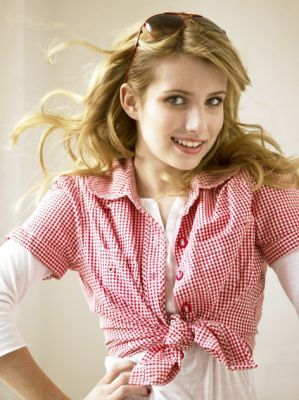 Emma Roberts wallpaper containing a portrait titled Emma Roberts- Photoshoots