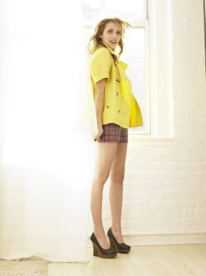 Emma Roberts wallpaper probably containing hosiery, bare legs, and a well dressed person titled Emma Roberts- Photoshoots