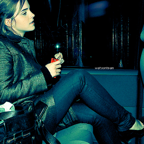 Emma Watson wallpaper possibly with bare legs, hosiery, and a hip boot called Emma*