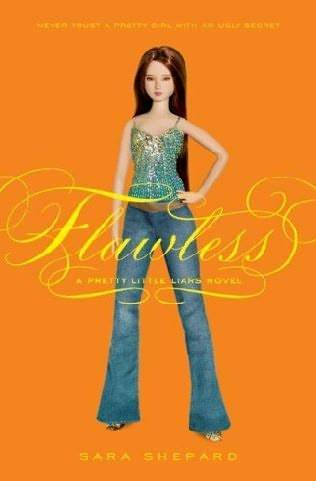Pretty Little Liar kertas dinding probably with long trousers, bellbottom trousers, and a legging titled FLAWLESS cover