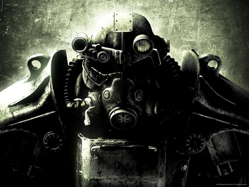 Fallout 3 fond d'écran probably with an internal combustion engine and a gasoline engine titled Fallout 3
