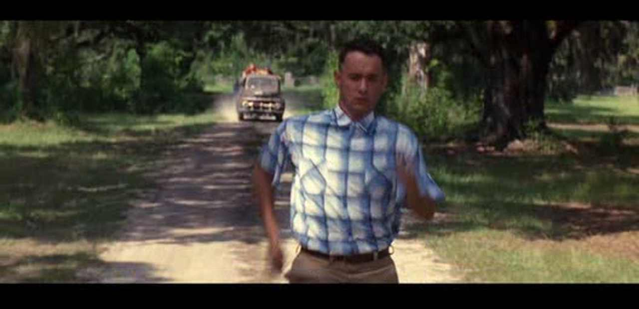 a report on the movie forest gump Brilliantly, 'forrest gump' is played by tom hanks, the only actor who could truly play the role without condescension hanks develops a character limited in consciousness but not in feeling, hence facilitating the audience' identification with him.