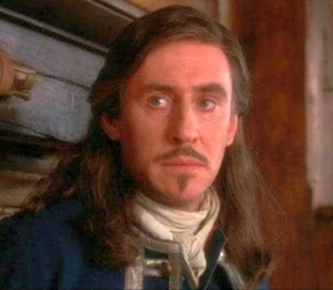 The Man in the Iron Mask wallpaper possibly with a portrait entitled Gabriel Byrne as D'Artagnan