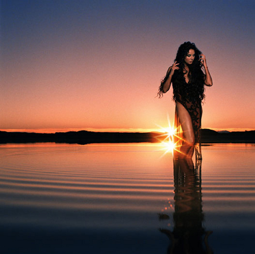 Sarah Brightman karatasi la kupamba ukuta containing a sunset titled Harem