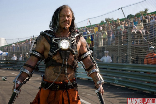 Iron Man 2: Mickey Rourke as Whiplash