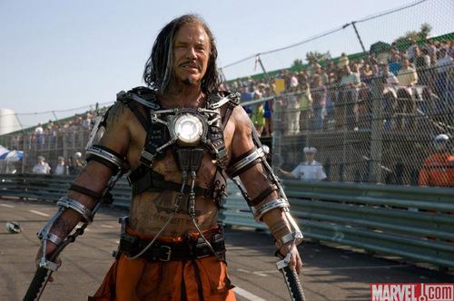 Iron Man 2: Mickey Rourke as Whiplash