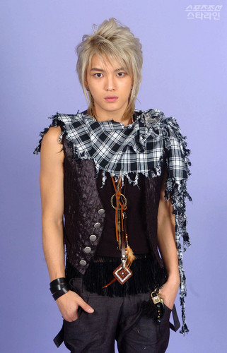 Hero Jae Joong wallpaper possibly with an outerwear, a blouse, and a playsuit, macacão called Jae joong O photoshoot
