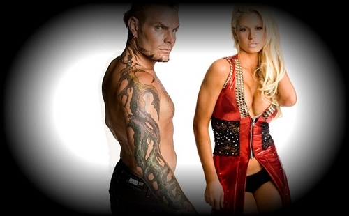 Jeff Hardy and Maryse
